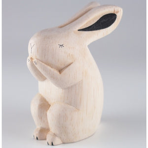 Pole Pole Wooden Animal Rabbit