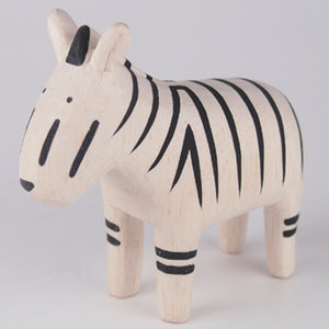 Pole Pole Wooden Animal Zebra by T-Lab - minifili