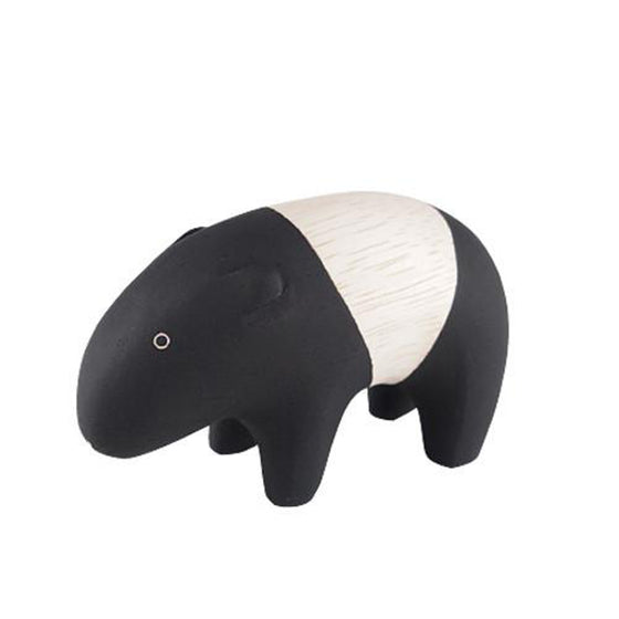 Pole Pole Wooden Animal Tapir