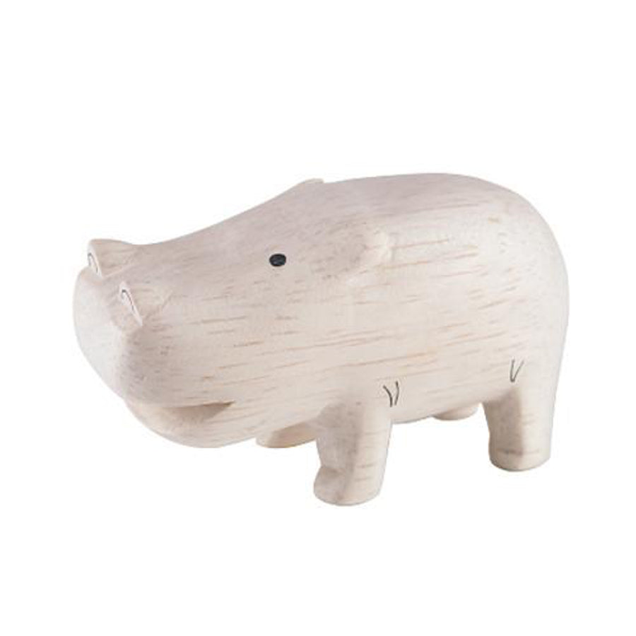 Pole Pole Wooden Animal Hippo by T-Lab - minifili