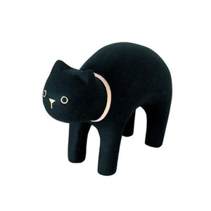 Pole Pole Wooden Animal Black Cat by T-Lab - minifili