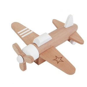 Hikoki Propeller Pullback Plane White by kiko+ and gg* - minifili