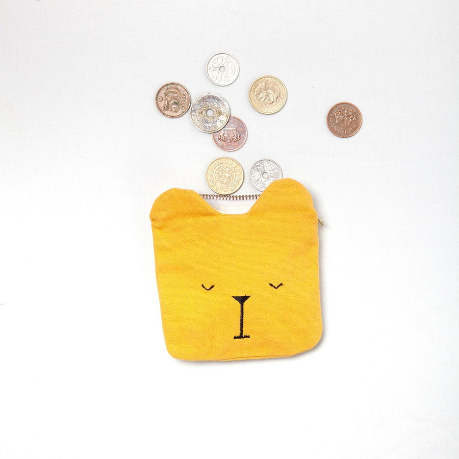 Coin Pouch Lazy Bear