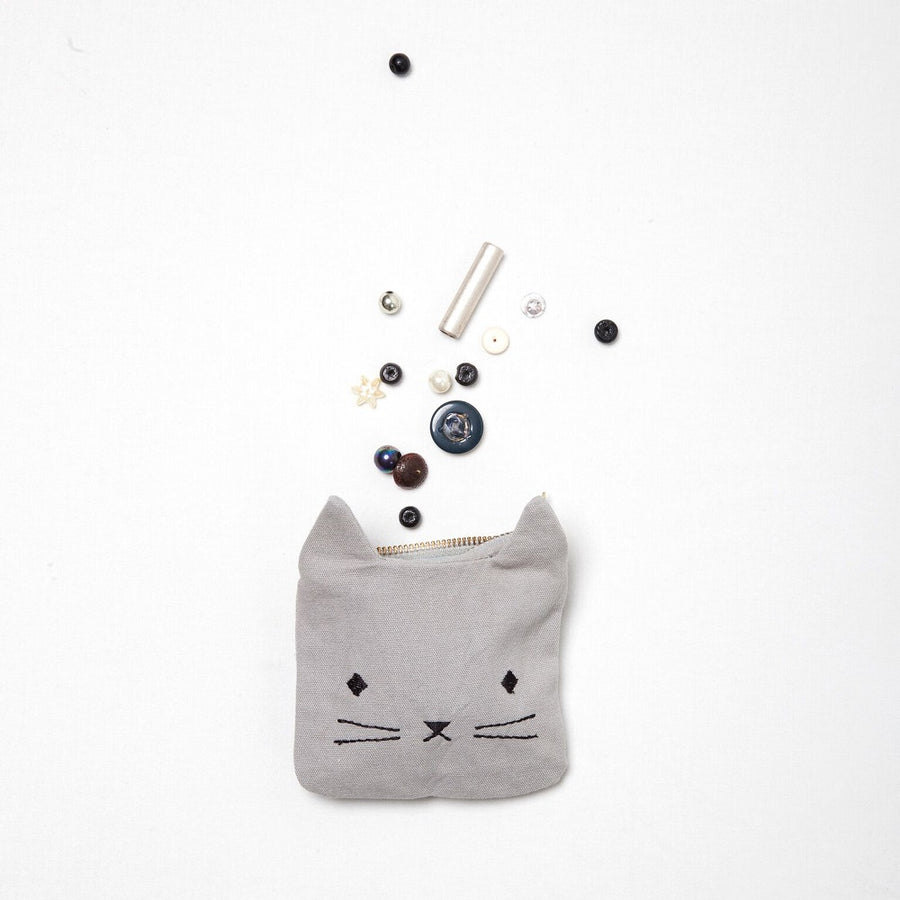 Coin Pouch Cuddly Cat by Fabelab - minifili