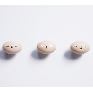 Toto Wall Hooks (set of 3) by Rock&Pebble - minifili