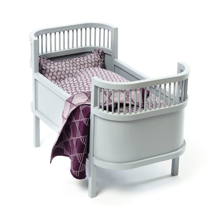 Rosaline Doll Cot Grey by Smallstuff - minifili