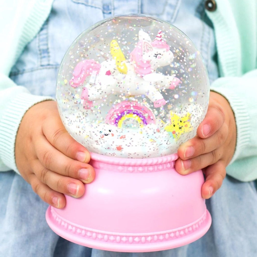 A Little Lovely Company - Unicorn Snow Globe Light