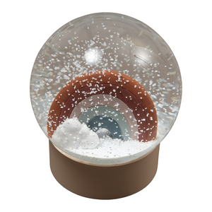 Rainbow Snow Globe by Fabelab - minifili
