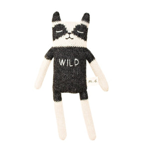 Raccoon Soft Toy by Main Sauvage - minifili