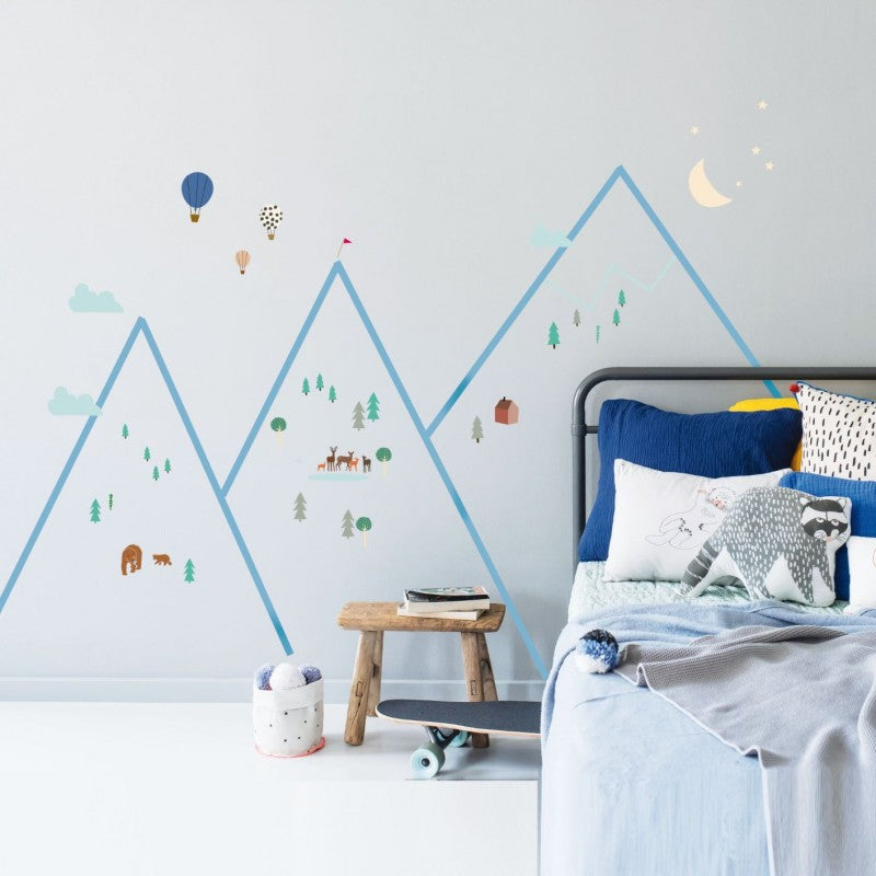 Mountains Wall Decal by MIMI'lou - minifili