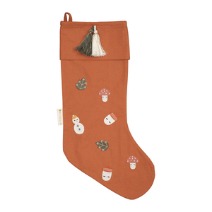 Forest Embroidered Stocking by Fabelab - minifili