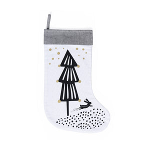 Christmas Tree Stocking by Wee Gallery - minifili