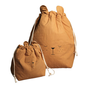 Storage Bag Lazy Bear by Fabelab - minifili