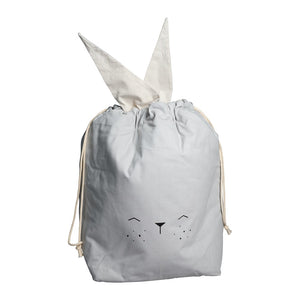 Storage Bag Bunny Icy Grey by Fabelab - minifili