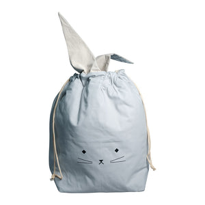 Storage Bag Cat Foggy Blue
