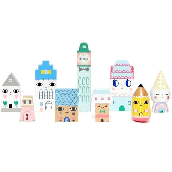 Suzy's City Wooden Houses