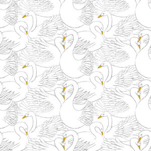 Swans Wallpaper by Lilipinso - minifili