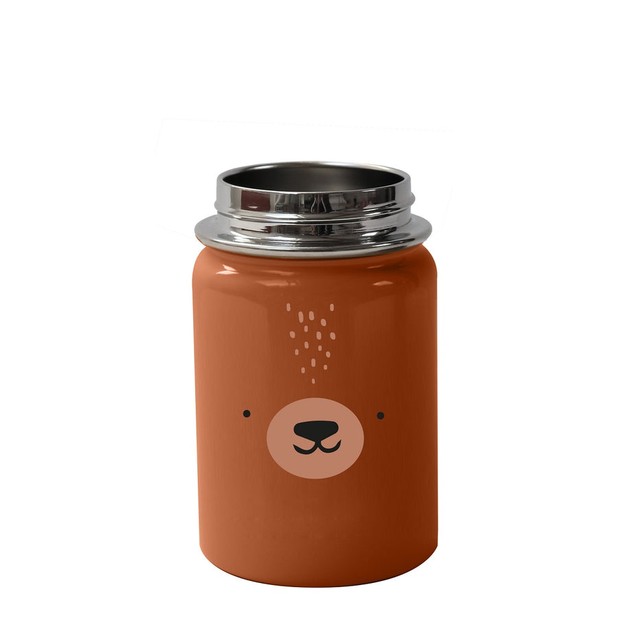 Stainless Steel Water Bottle Bear by Eef Lillemor - minifili