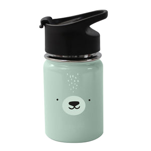 Stainless Steel Water Bottle Polar Bear by Eef Lillemor - minifili