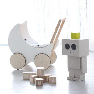 Alphabet Blocks White by ooh noo - minifili