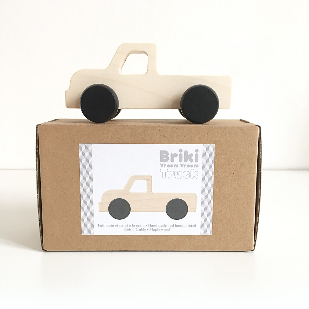 Briki Vroom Vroom - Truck Push Toy