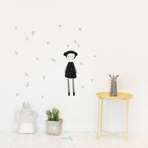 Dreamy Friend Sheep Wall Sticker by Fabelab - minifili