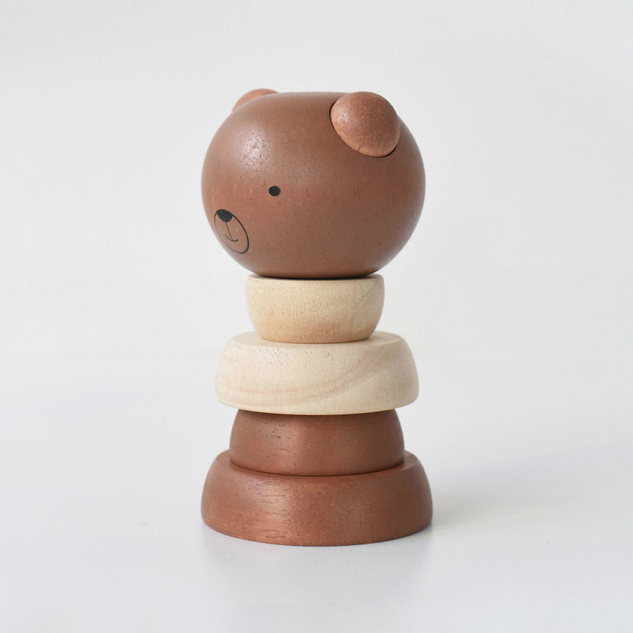 Wooden Stacking Bear by Wee Gallery - minifili