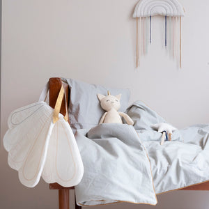 Dreamy Bedding Set Foggy Blue by Fabelab - minifili