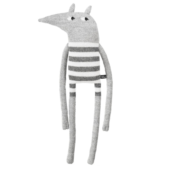 Striped Wolf Soft Toy