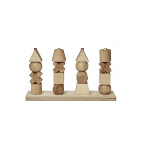 Natural Stacking Toy XL by Wooden Story - minifili