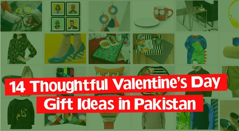 14 Thoughtful Valentine's Day Gift Ideas in Pakistan