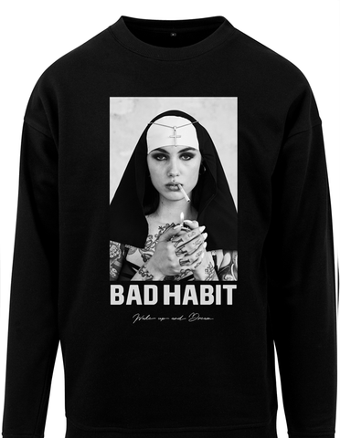 Active Hoodie Bad Habit Sweat Shirt Black