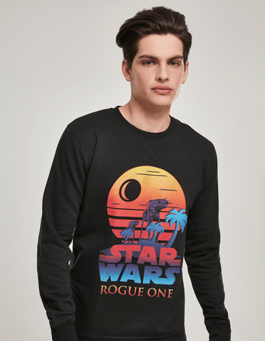 Active Hoodie Rogue One Logo Sunset Sweat Shirt Black
