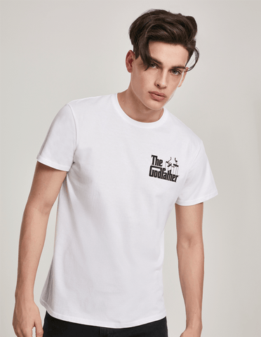Active T-SHIRT God Father White T-shirt