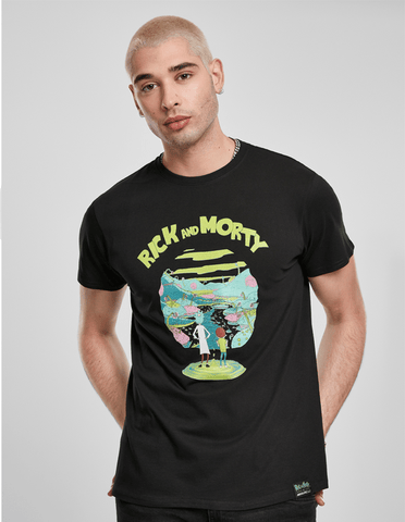 Active T-SHIRT Rick and Morty Logo T-shirt