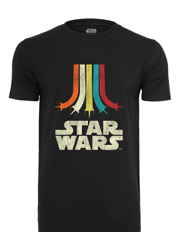Active T-SHIRT Star Wars Rainbow Logo T-shirt