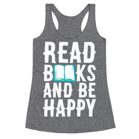 Ali Ahsan Tank Tops Read Bookd And Be Happy Tank Top
