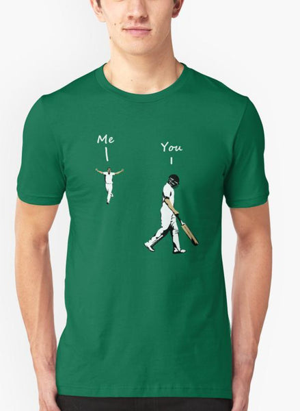 Ali Naqvi T-SHIRT Cricket Green T-shirt