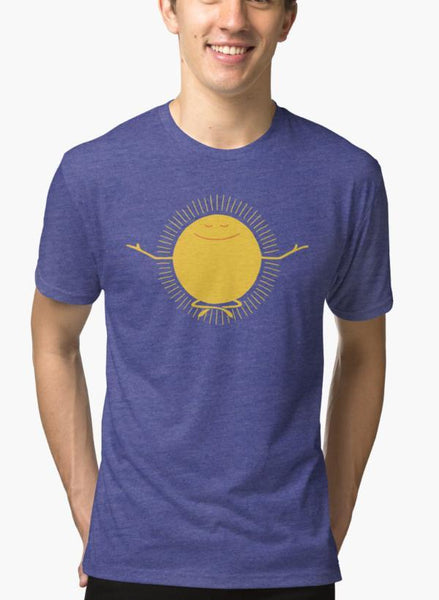 Ali Naqvi T-SHIRT Sun Worshipper Purple T-shirt