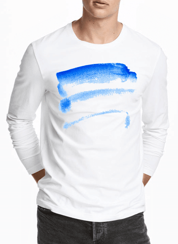 Aneeq Arshad T-shirt Brush Strokes Full Sleeves T-shirt