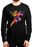 Aneeq Arshad T-shirt SMALL / Black Colors Are Coming Full Sleeves T-shirt