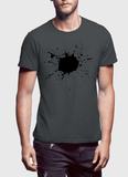 Aneeq Arshad T-shirt SMALL / Charcoal Splatter Half Sleeves T-shirt