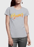 Aneeq Arshad T-shirt SMALL / Gray Summer Half Sleeves Women T-shirt