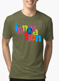 Aneeq Arshad T-shirt SMALL / Green Innovation Half Sleeves Melange T-shirt