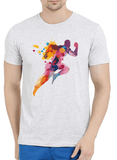 Aneeq Arshad T-shirt SMALL / Offwhite Colors Are Coming Half Sleeves Melange T-shirt
