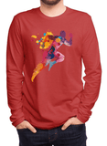 Aneeq Arshad T-shirt SMALL / Red Colors Are Coming Full Sleeves T-shirt