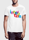 Aneeq Arshad T-shirt SMALL / White Innovation Half Sleeves T-shirt