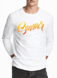 Aneeq Arshad T-shirt SMALL / White Summer Full Sleeves T-shirt