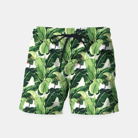 Ayaz Ahmed Shorts Banana leaves pattern Shorts