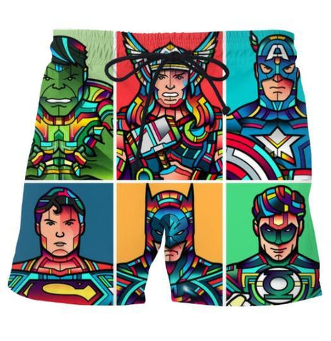 Ayaz Ahmed Shorts Super heroes Shorts